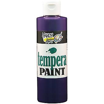 Pratique Art Tempera Paint 8 onces Violet 206 040