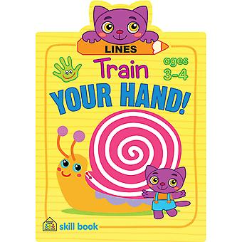 Train Your Hand Skill Book-Lines SZTYHSB-06431