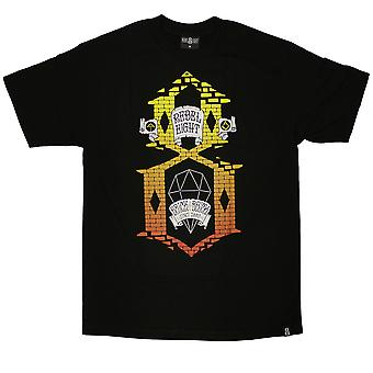 Rebel8 Brick By Brick T-shirt Black