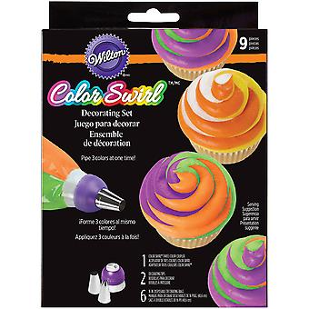 Color Swirl 3-Color Coupler Decorating Set- W7099
