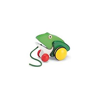 Pintoy Pull Figur Frosch