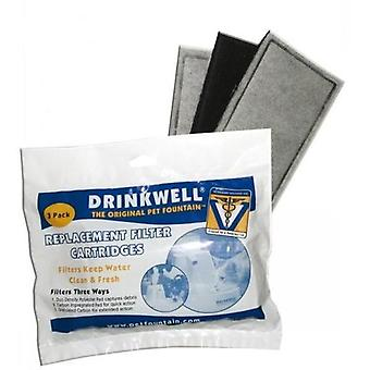 Drinkwell Replacement Charc Filter(3p)