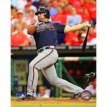 Dan Uggla 2012 Action Photo Print