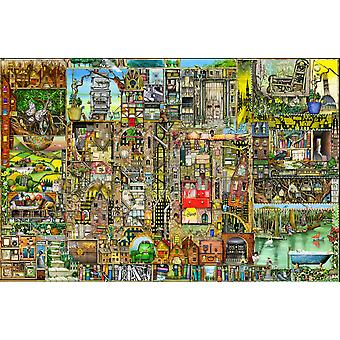 Our Town Poster Print by Colin Thompson