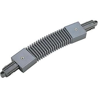 High voltage mounting rail Flex connector SLV 1-phase 143112 Silver-grey