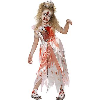 Smiffys Childrens Girls Zombie Sleeping Princess Costume Halloween Fancy Dress