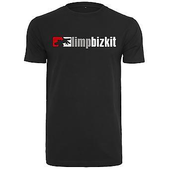 Camiseta Merchcode - logo de LIMP BIZKIT negro