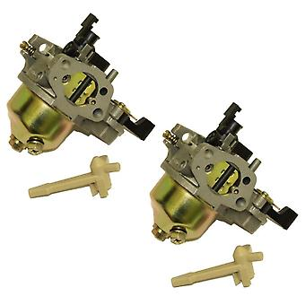 2 x no originales carburador, carburador Compatible con Honda GX140 GX160 motor