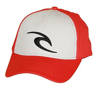 Rip Curl Medium Curve Snapback Cap ~ Icon red