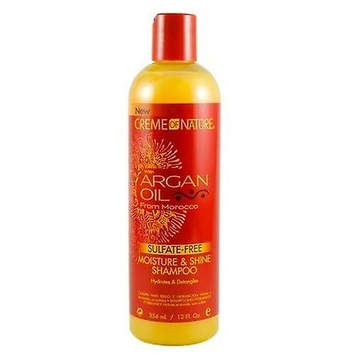 CREME de shampooing sans Sulfate de Nature huile d'Argan 354ml