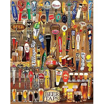 Beer Taps 1000 piece jigsaw puzzle 760mm x 610mm  (wmp)