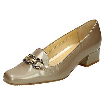 Ladies Van Dal Smart Court Shoes Twilight