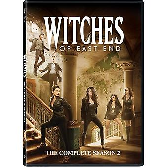 Witches of East End: The Complete Season 2 [DVD] USA import