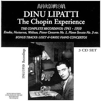 Chopin - Etudes Nocturnes Klavierkonz [CD] USA importerer