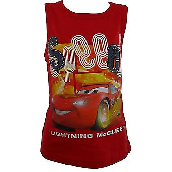 Boys Disney Cars Sleeveless T-shirt / Top