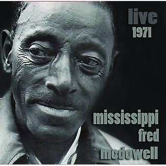 Mississippi Fred McDowell - Live [CD] USA importerer