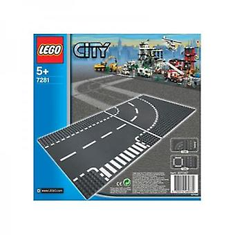 Lego 7281 T-Junction & Curve (Toys , Constructions , Characters And Animals)
