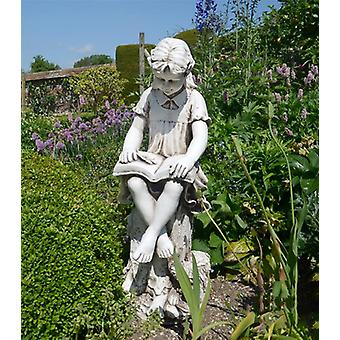 Solstice Sculptures Mary Reading Girl Statue