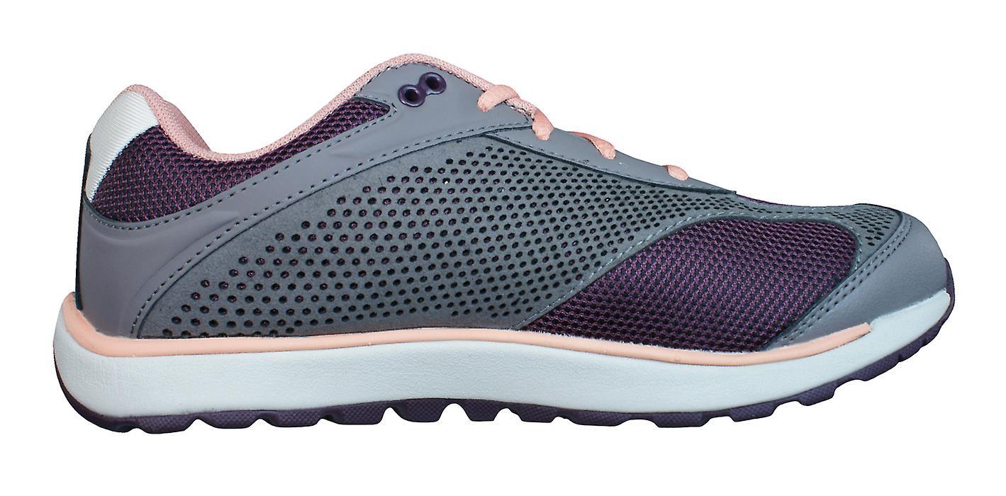 Hi Wine Trainers Nazka Lite Tec Grey 5 Walking V 0 Shoes Womens Trail PBnPzrx