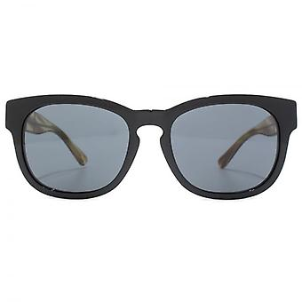 Burberry Keyhole Bridge Sunglasses In Black