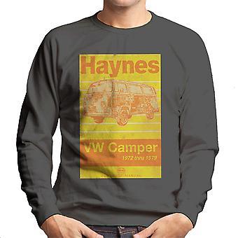 قميص من النوع الثقيل هاينز حلقة العمل اليدوي فولكس فاجن العربة عام 1972 شريطية الرجال