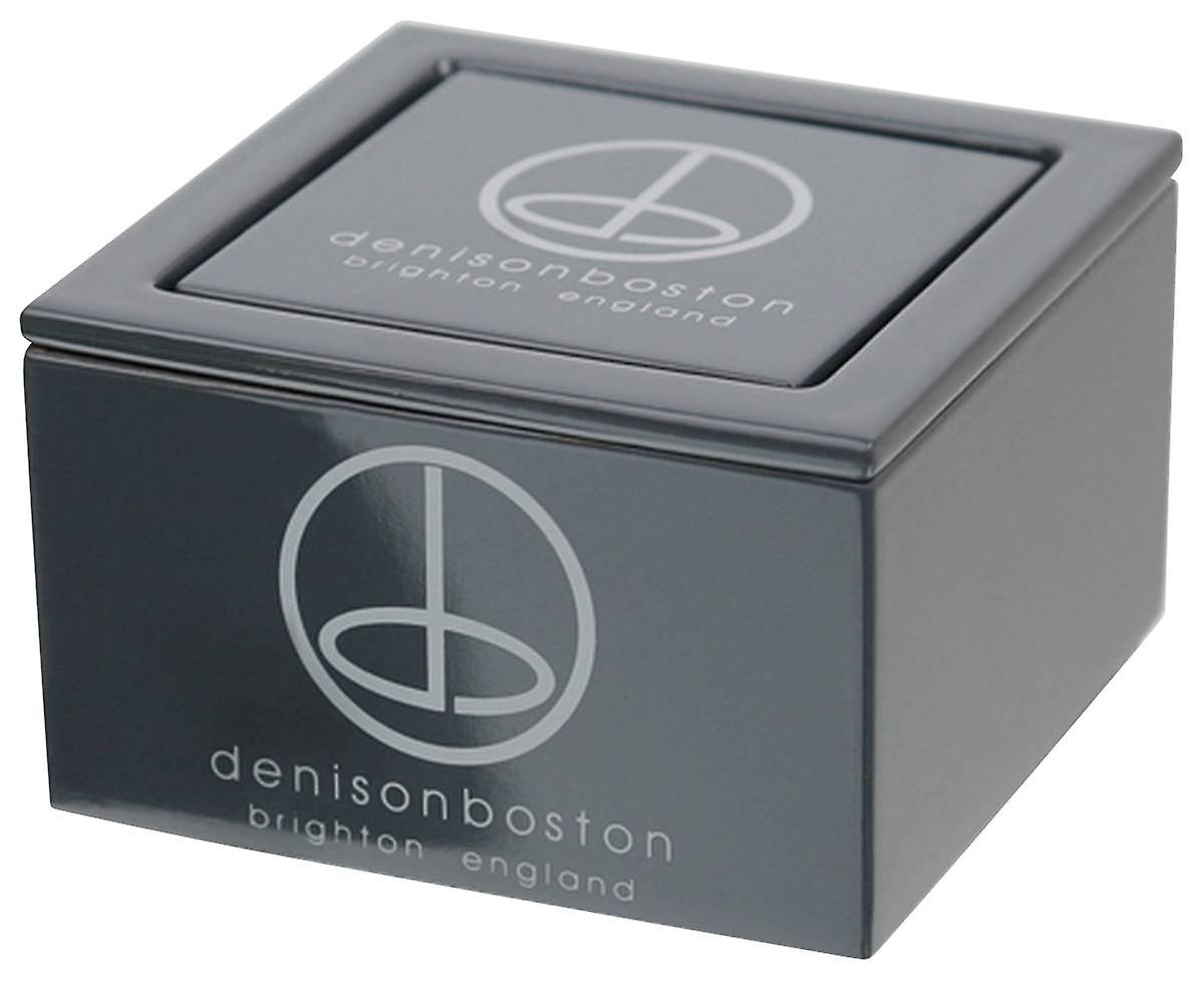 denisonboston Landmark Mono Cufflinks - Onyx