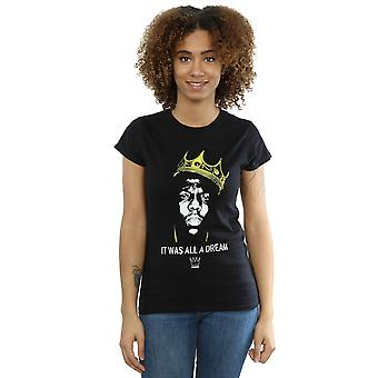 Notorious BIG kvinders Biggie drøm Crown T-Shirt