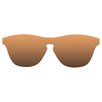 Sunpers San Francisco Flat PC Sunglasses - Brown