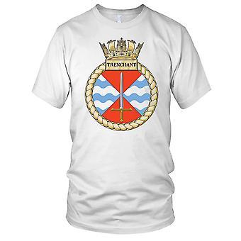 Royal Navy HMS Trenchant Ladies T Shirt