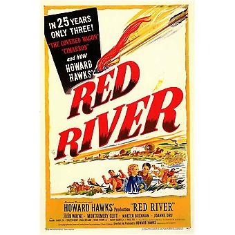 Red-River-Film-Poster (11 x 17)