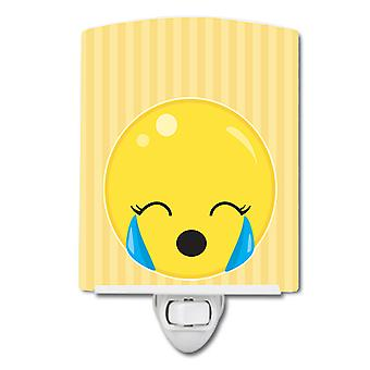 Carolines Treasures  BB8734CNL Crying Face #2 Ceramic Night Light