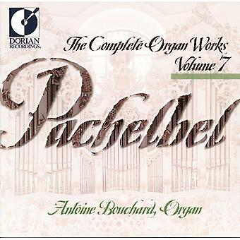 J. Pachelbel - Pachelbel: The Complete Organ Works, Vol. 7 [CD] USA import