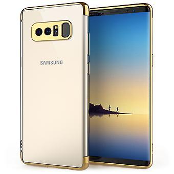 Samsung Galaxy Note 8 schokbestendige Gel Case goud