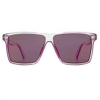Marc Jacobs Contemporary Square Sunglasses In Crystal Pink