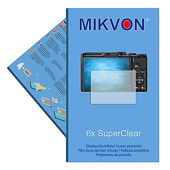 Nikon COOLPIX A900 screen protector- Mikvon films SuperClear