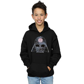Star Wars Boys Geometric Darth Vader Hoodie