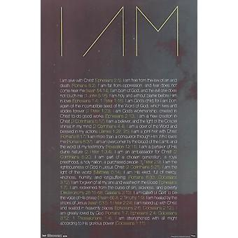 I Am Poster Print