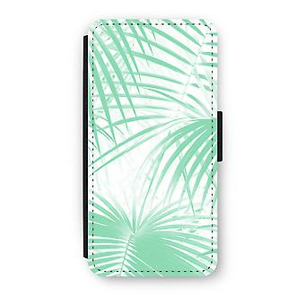 Samsung Galaxy S8 Flip Case - Palm leaves