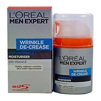Loreal Men Expert Wrinkle De-Crease Moisturiser