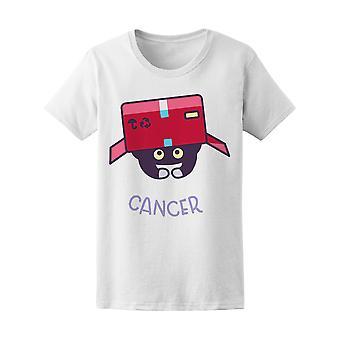 Cat Zodiac Astrology Cancer Women's Tee - Image by Shutterstock