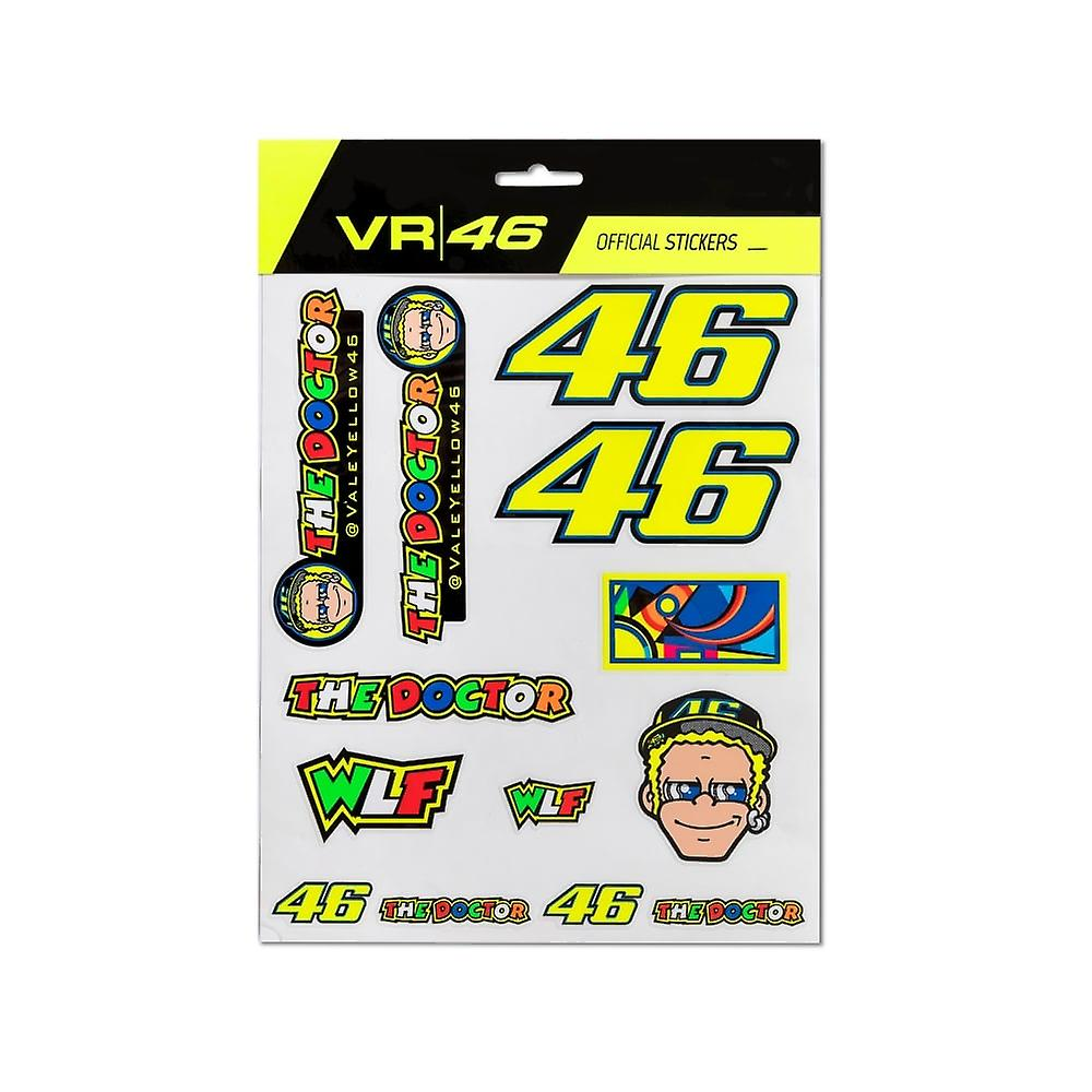 Valentino Rossi VR46 Large Sticker Set