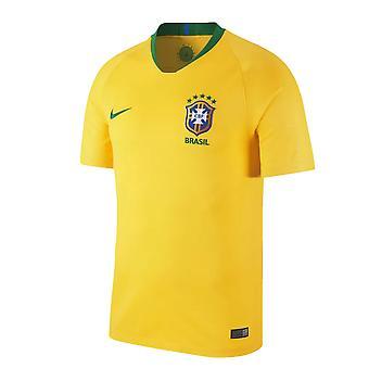 2018-2019 Brazil Home Nike Football Shirt
