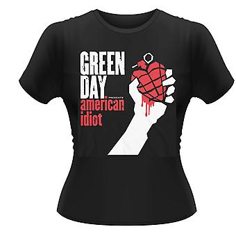 Green Day American Idiot  T-Shirt Girlie