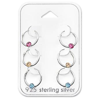Round - 925 Sterling Silver Sets