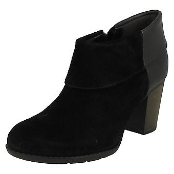 Ladies Clarks Smart Ankle Boots Enfield Canal