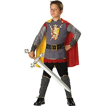 忠実な騎士ルネッサンス中世の幼児男の子のドレス衣装