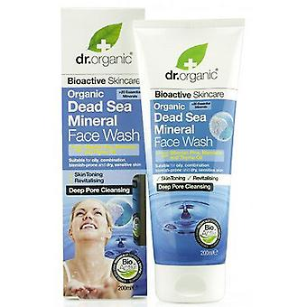 Dr. Organic Dead Sea Mineral Face Wash (Cosmetics , Facial , Facial cleansers)