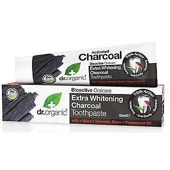 Dr. Organic Charcoal Toothpaste (Hygiene and health , Dental hygiene , Toothpaste)