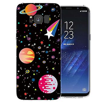 Samsung Galaxy S8 Space TPU Gel Case