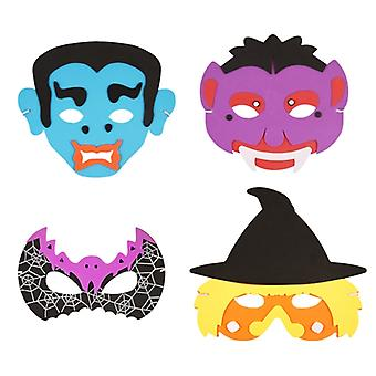 Halloween Assorted Masks - Pack of 4